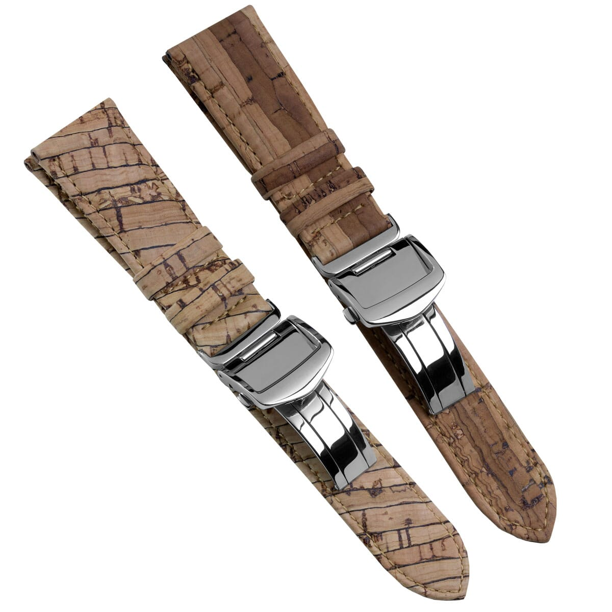 New range of watch straps made from Cork
